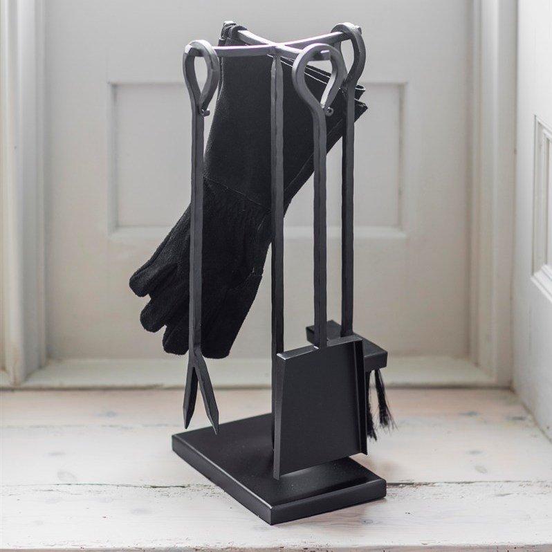 Wood Burner Set with Black Gauntlets - save 30%