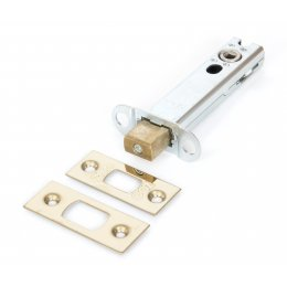 Brass 4'' Heavy Duty Tubular Deadbolt