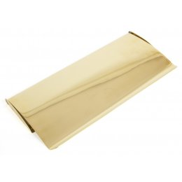 Polished Brass Small Letterplate Cover image