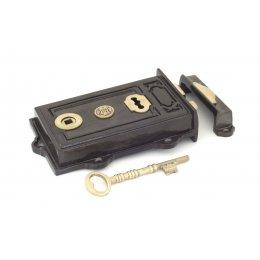 Iron Davenport Rim Lock