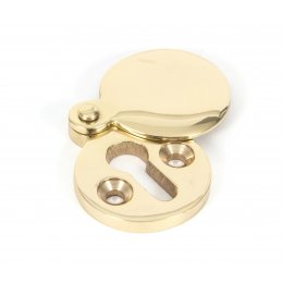 Round Escutcheon - Polished Brass
