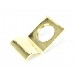 Polished Brass Rim Cylinder Pull