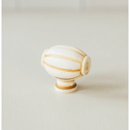 Barrel Cabinet Knob from Turnstyle (Box of 6) - Ochre SAVE 80%