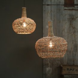 Rattan Lampshade - Conical