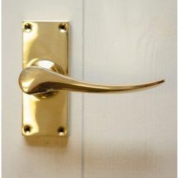 Codsall Lever Handles (Pair) - Brass