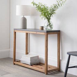 Console Table - Cement Top