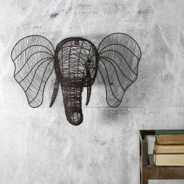 Wire Elephant Head