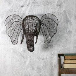 Wire Elephant Head