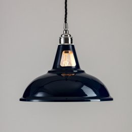 Factory Pendant Light -  Dark Blue