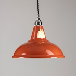Factory Pendant Light - Orange