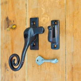 Forged Monkey Tail Casement Window Fastener (Lockable)
