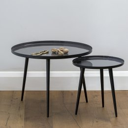 Jelva Side Table - Smoked Pearl