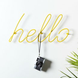 Hello Coat Rack - save 25%