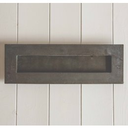 Large Hand Forged Letterplate- External Beeswax