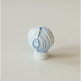 Lotus Bud Cabinet Knob from Turnstyle (Box of 4) - Aqua Blue SAVE 70%