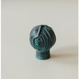 Lotus Bud Cabinet Knob from Turnstyle (Box of 6) - Verdi Gris SAVE 70%