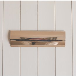 Letter Tidy - Polished Nickel