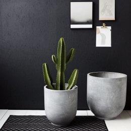 Concrete Planters - Set of 2