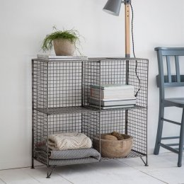 Mesh Shelving Unit