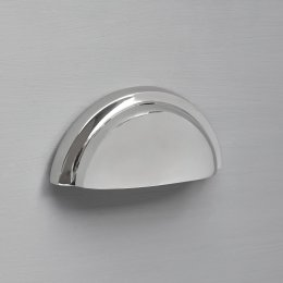 Regency Concealed Drawer Pull - Nickel