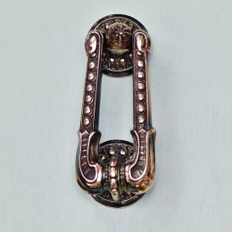 Sherlock Door Knocker - Aged Nickel