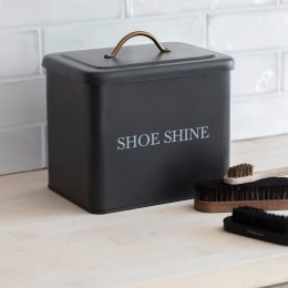 Shoe Shine Tin - Carbon
