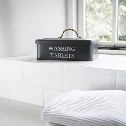 Washing Tablet Box - Carbon