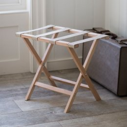 Weekend Folding Luggage Rack - Beech
