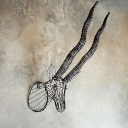 Wire Antelope Head