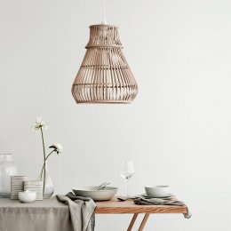 Zamba Bamboo Pendant Light Shade - save 15%