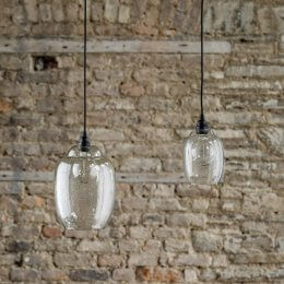 Hanging Clear Glass Pendant Light - Save 40%