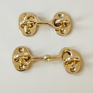 Cabin Hook - Polished Brass