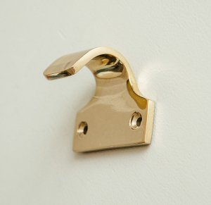 Sash Window Lift -  Brass