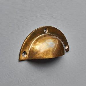 Cup Handle - Antique Brass