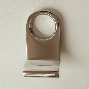 Cylinder Pull - Polished Nickel