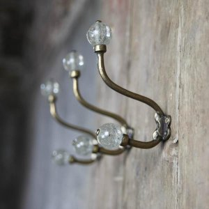 Glass Hat and Coat Hook - Duka