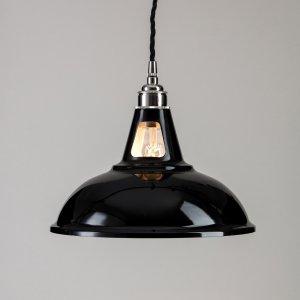 Factory Pendant Light - Black