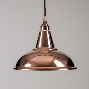 Factory Pendant Light - Copper