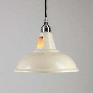 Factory Pendant Light - Cream