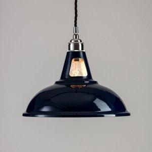 Factory Pendant Light -  Dark Blue