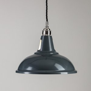 Factory Pendant Light  - Grey