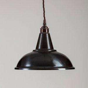 Factory Pendant Light - Raw Steel & Copper