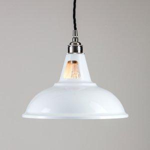 Factory Pendant Light - White