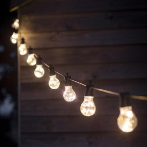 Festoon Outdoor Bulb Lights SAVE 15%