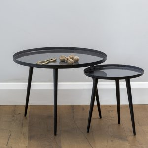 Jelva Side Table - Smoked Pearl save 20%