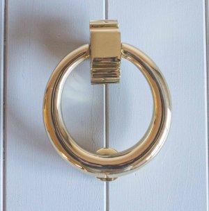 Hoop Door Knocker - Brass