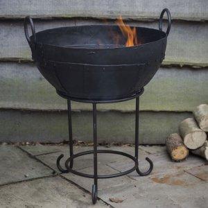 Kadai Cast Iron Fire Pit
