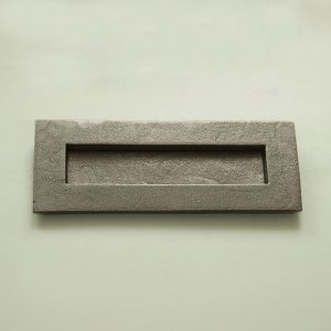 Forged Letterplate - Patine