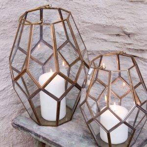 Mohani Lantern - Brass