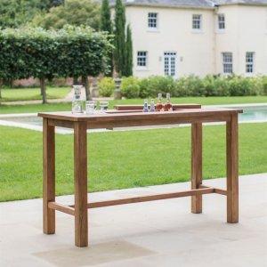 Reclaimed Teak Drinks / Planter Table - Large